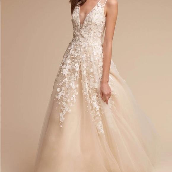 NWT BHLDN Anthropologie wedding Dress